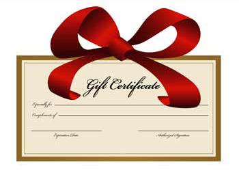Gift certificates yelopaper Choice Image