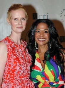 Cynthia Nixon & Kim: 15th Annual Surviving W/Style Fashion Show & Luncheon, Benefiting Gilda's Club Seattle.
