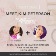 Are You A Millionairess In Training? Join Us Thursday Mornings at 8 AM (PST)!